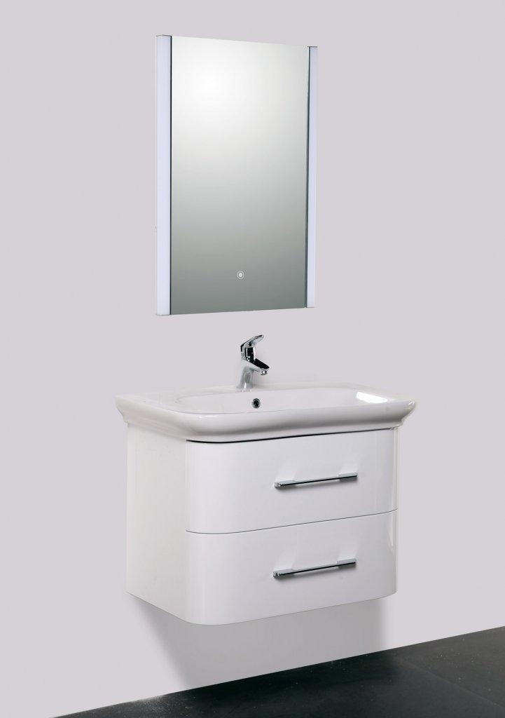 Мебель для ванны бельбагно Мойка кухонная Акватон Мида песочный